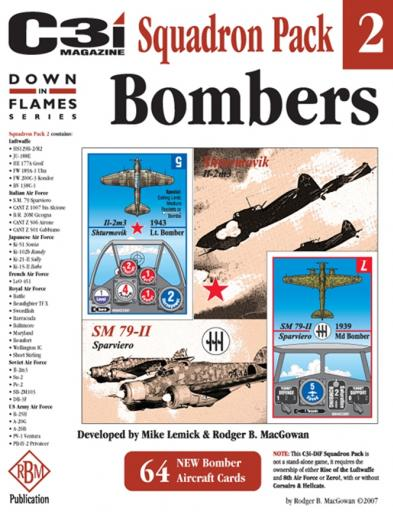 Down in Flames Squadron Pack 2: Bombers