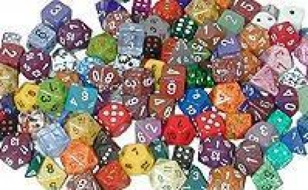 Dice Loose Singles: Assorted Random Polyhedral d00 Percentile (1)