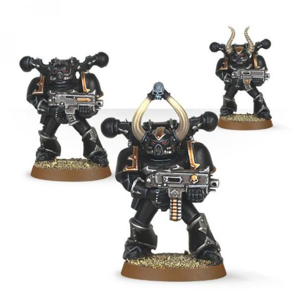 Warhammer 40K: Chaos Space Marines (Easy to Build)