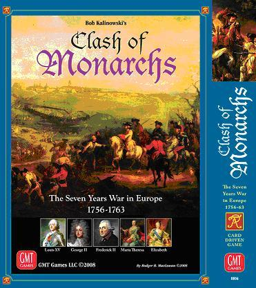 Clash of Monarchs: The 7 Years War in Europe
