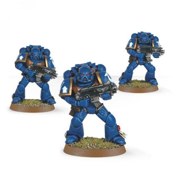 Warhammer 40K: Space Marines (Easy to Build)