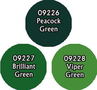 Brilliant Greens Triad (3)