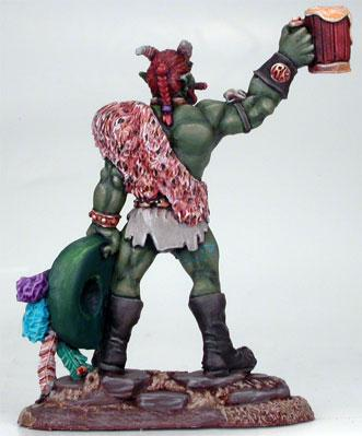 Visions In Fantasy: Roadkill The Troll (Tribute Miniature)