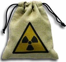 Dice Accessories: Color Nuke Linen Dice Bag