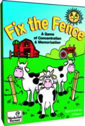 Fix the Fence: A Card Game of Concentration & Memorization