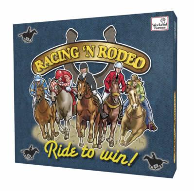 Racing 'n Rodeo: Ride to Win Board Game