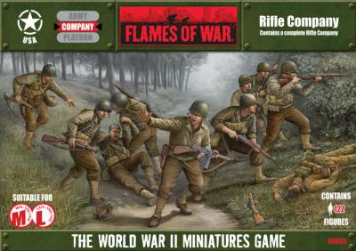 Flames of War: US Rifle Company Box Set