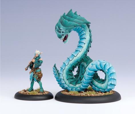 (Minions) Lesser Warlock Dahlia Hallyr & Skarath Warbeast