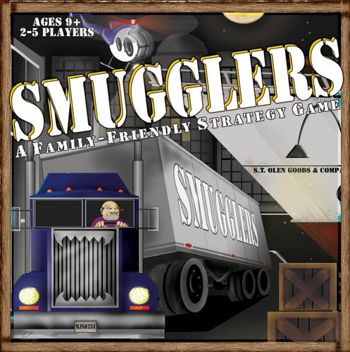 Smugglers: A Family Friendly Strategy Game