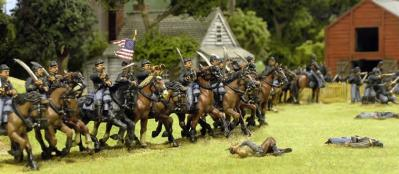 28mm American Civil War: Cavalry (12) [Plastic]