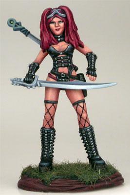 Female Goth Warrior
