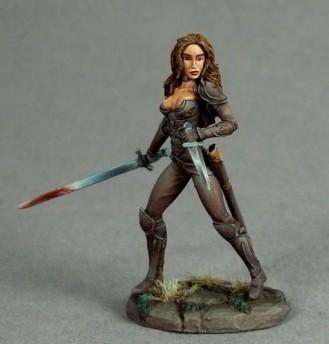 Visions In Fantasy: Female Rogue, Dual Wield