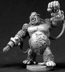 Chronoscope - Super Villains: Ape-X, Gorilla Super Villain