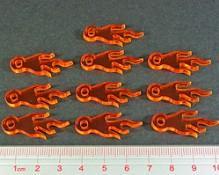 Flight Stands: Flight Peg Fire Indicators (Set of 10)