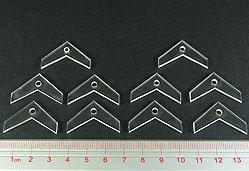 Flight Stands: 30mm V-Formation Peg Toppers (Set of 10)