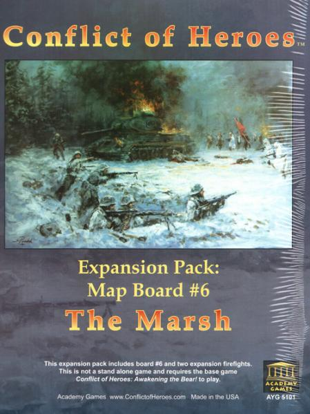 Conflict of Heroes: The Marsh Expansion Pack