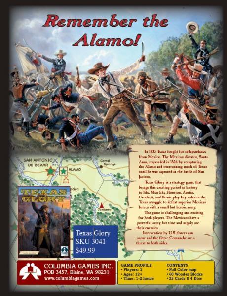 Texas Glory: 1835-36