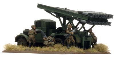 Flames Of War (WWII): (Soviet) Katayusha Rocket Battery