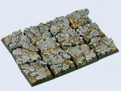 Battle Bases: Ruins Bases, 20x20mm (5)