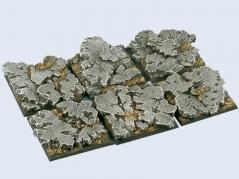 Battle Bases: Ruins Bases, 40x40mm (2)