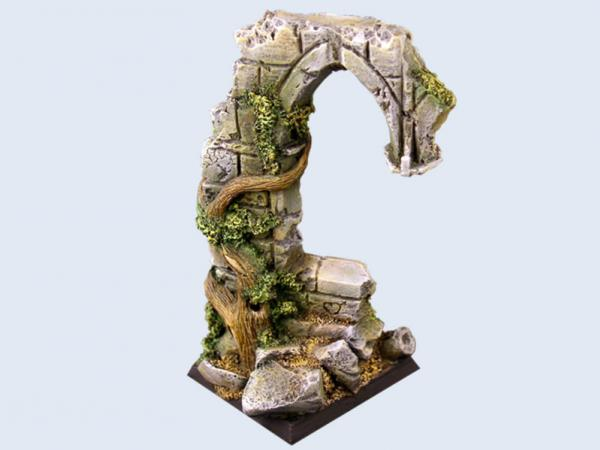 Battle Bases: Ruins Base, Flying 40x40mm #1 (1)