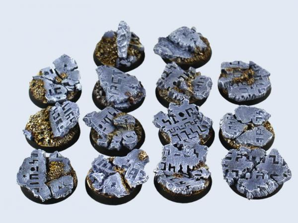 Battle Bases: Ruins Bases, Round 25mm (5)