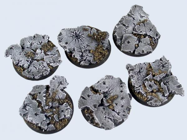 Battle Bases: Ruins Bases, Round 40mm (2)