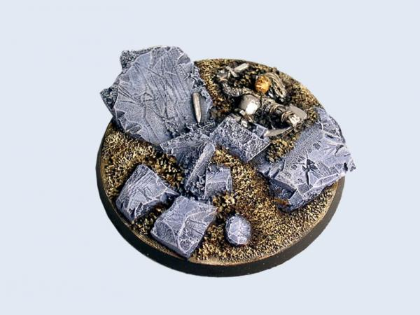Battle Bases: Ruins Bases, Round 60mm #3 (1)