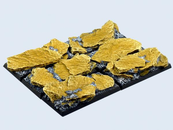 Battle Bases: Shale Bases, Cavalry 25x50mm (4)