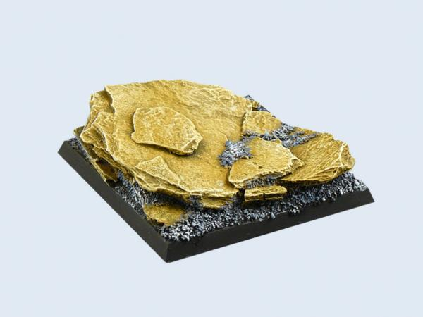Battle Bases: Shale Base, 50x50mm (1)
