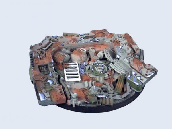 Battle Bases: Trash Base, Round 60mm #1 (1)