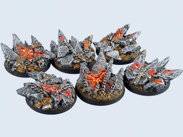 Battle Bases: Chaos Bases, Round 40mm (2)