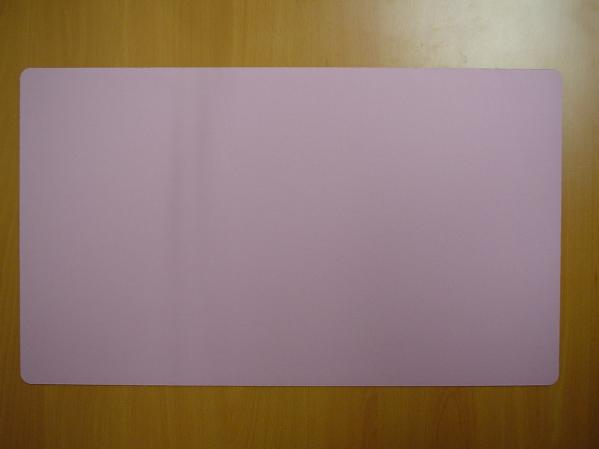Card Game Accessories: Blank Playmat (Pink)