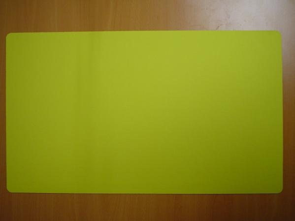 Card Game Accessories: Blank Playmat (Yellow)