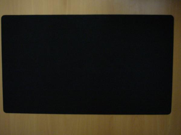 Card Game Accessories: Blank Playmat (Black)