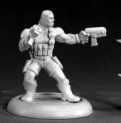 Chronoscope - Super Heroes: Frank Russo, Mercenary Hero