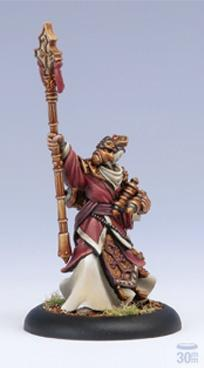 Warmachine: (The Protectorate Of Menoth) Hierophant Warcaster Attachment