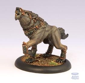 Hordes: (Circle Orboros) War Wolf Solo