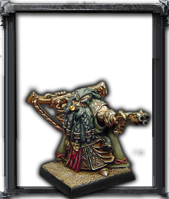 Avatars of War: Dwarf Thane with Handgun