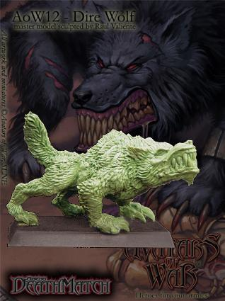 Avatars of War: Dire Wolf