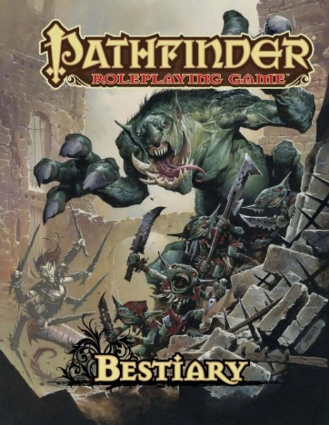 Pathfinder RPG: Bestiary 1 (HC)