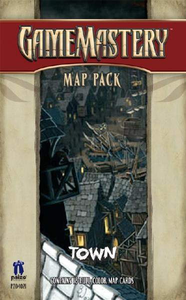 GameMastery Campaign Map Packs: Town