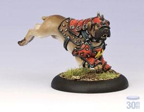 Warmachine: (Khador) War Dog Warcaster Attachment