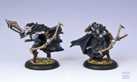 (Legion Of Everblight) Strider Officer & Musician Unit Attachment (2)