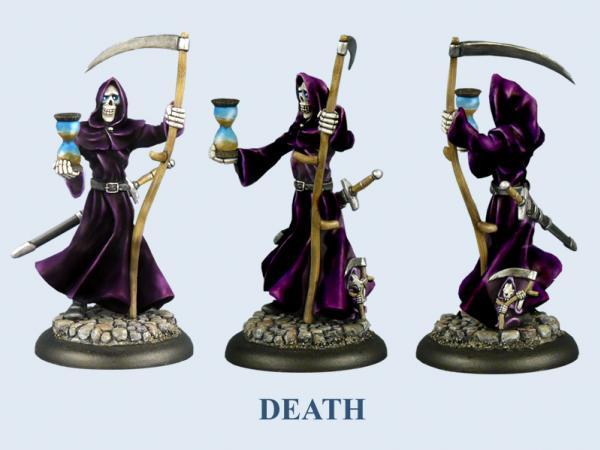 28mm Discworld Miniatures: Death