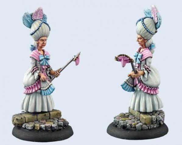 28mm Discworld Miniatures: Esme Weatherwax II (1)
