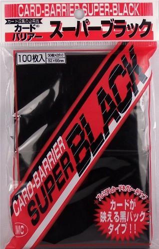 KMC Sleeves: Super Black 80 count