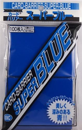 KMC Sleeves: Super Blue 80 count