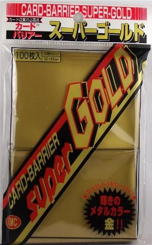 KMC Sleeves: Super Gold 80 count