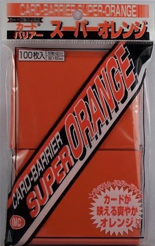 KMC Sleeves: Super Orange 80 count